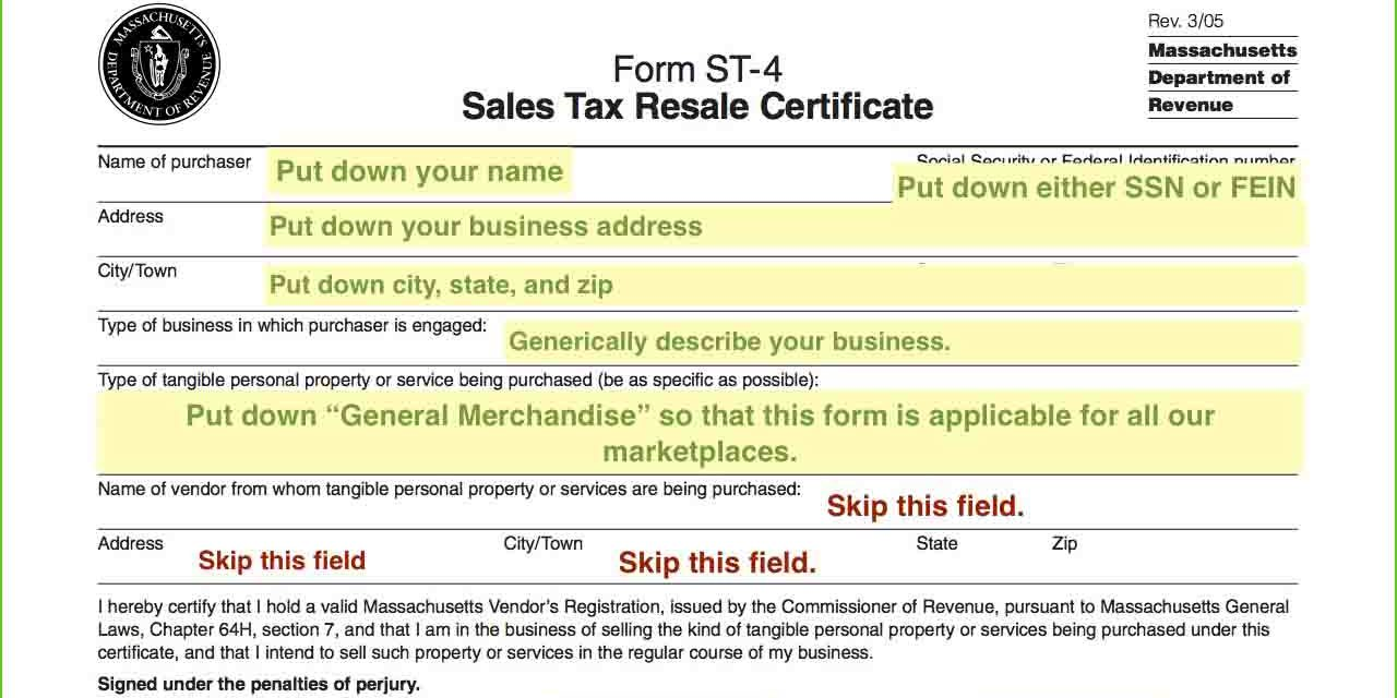 Resale Certificates Do I Need One