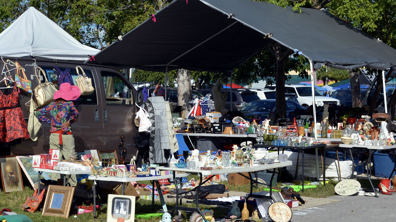 Starting A Flea Market Business